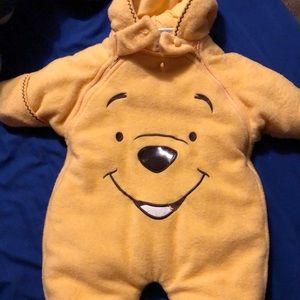 Winnie the Pooh snow suit